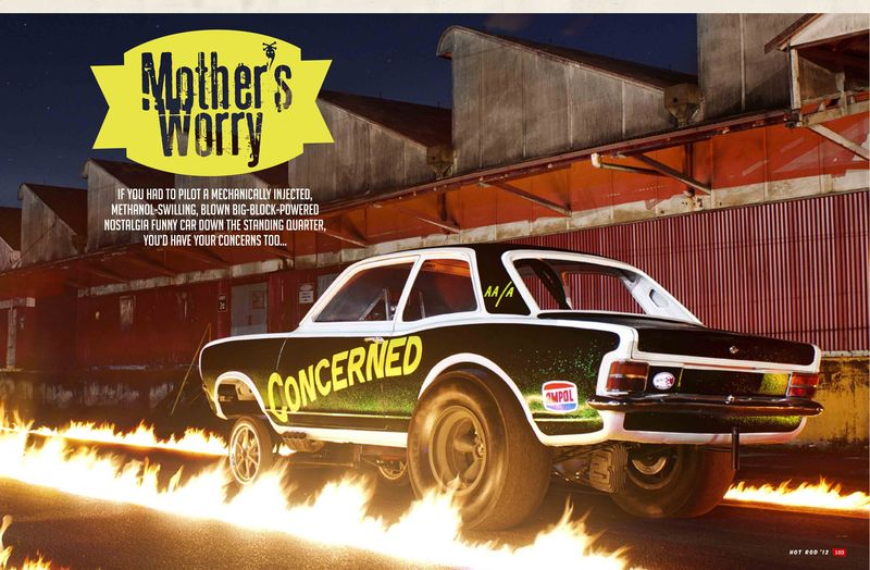 Torana Funny Car Hot Rod Annual