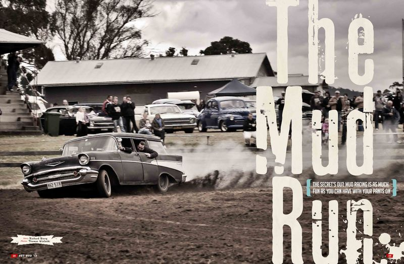 Webby's Mud Run Hot Rod Annual